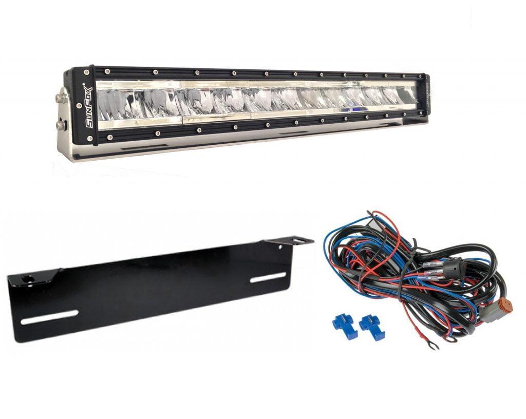*KAMPANJA!* Sunfox SF120 LED kaukovalopaketti 120W
